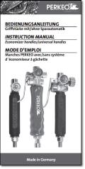 Economizer handles/universal handles